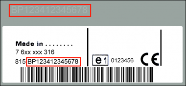Blaupunkt BP1770 Citroen PF1(B) - 7 641 770 094 - 7641770094