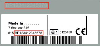 Blaupunkt BP5028 MAN - CC 24v - 7 607 005 028 - 7607005028 - 81.28101.6166