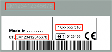 Bosch CM0336 Lancia Delta 844 MP3 Plus AUX2 + - 7 640 336 616 - 7640336616