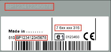 Blaupunkt BP4384 Lancia Ypsilon 848 MP3 SB03 - 7 644 384 316 - 7644384316 - 7353876070