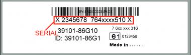 Blaupunkt BP3065 Suzuki - Radio -7 643 065 610 - 7643065610